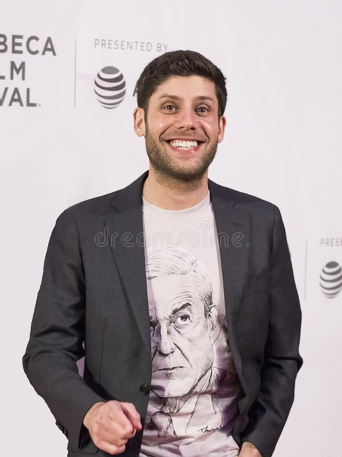 Michael H Weber en el festival de cine 2018 de Tribeca fotografía de archivo libre de regalías