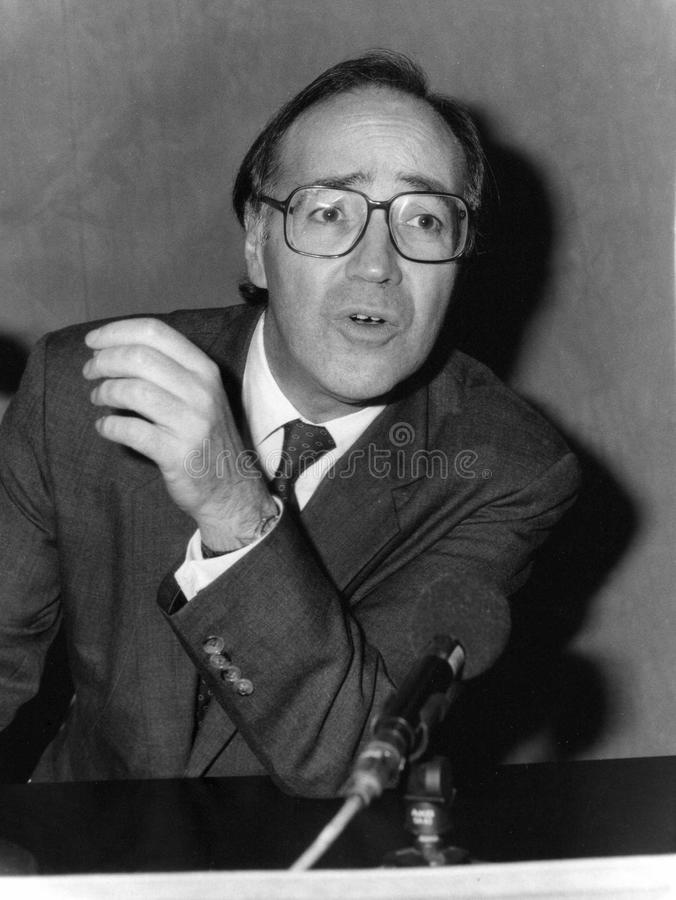 Michael Howard. Former Leader of the Conservative Party & Member of Parliament for Folkestone & Hythe, at a press conference in Brighton on October 6, 1992 stock photos