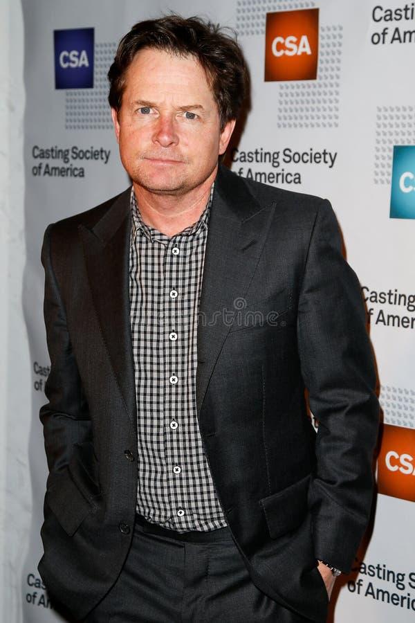 Michael J. Fox στοκ φωτογραφίες με δικαίωμα ελεύθερης χρήσης