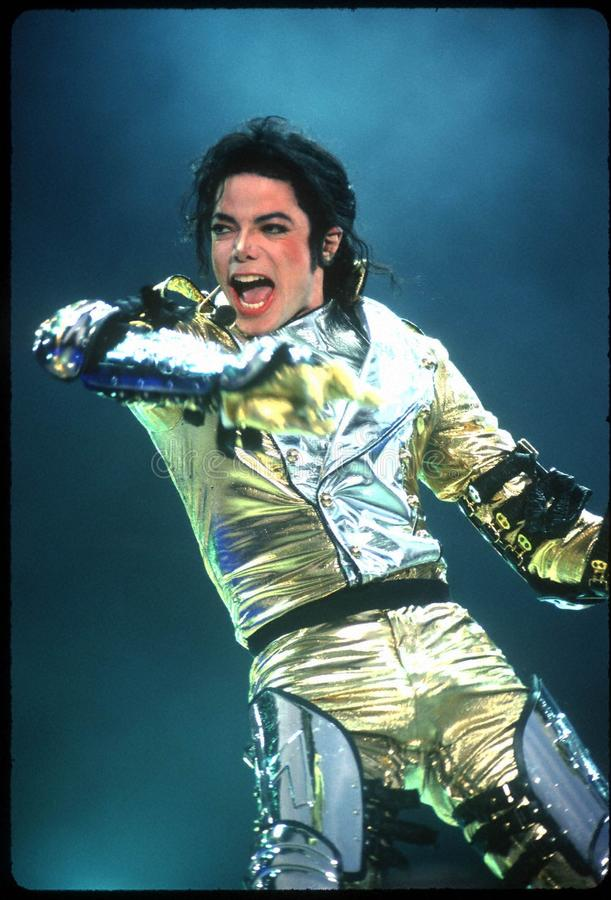 Download Michael Jackson editorial stock image. Image of performer - 21344764
