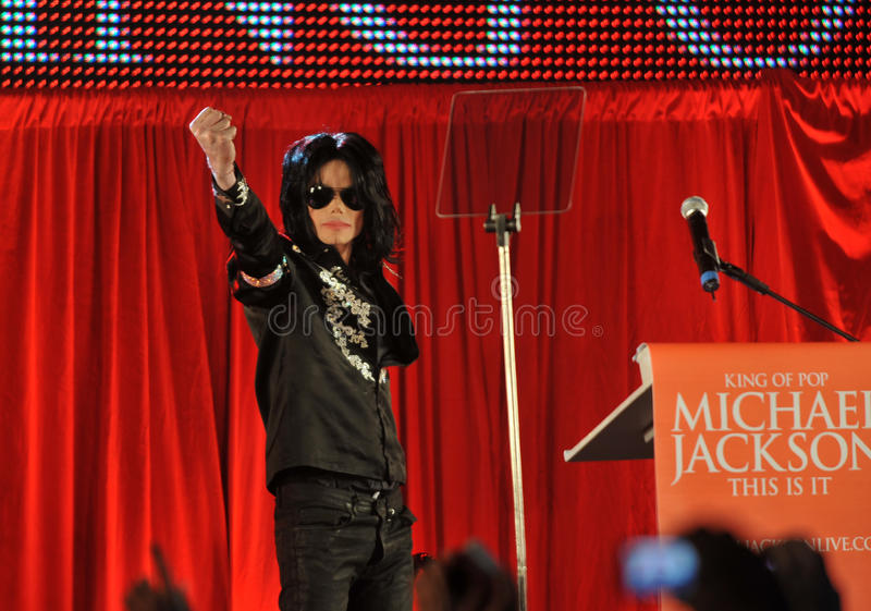 Michael Jackson royalty-vrije stock afbeeldingen