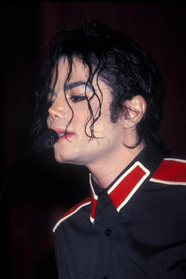 Michael Jackson stockbild
