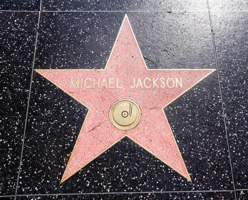 Michael Jackson imagen de archivo