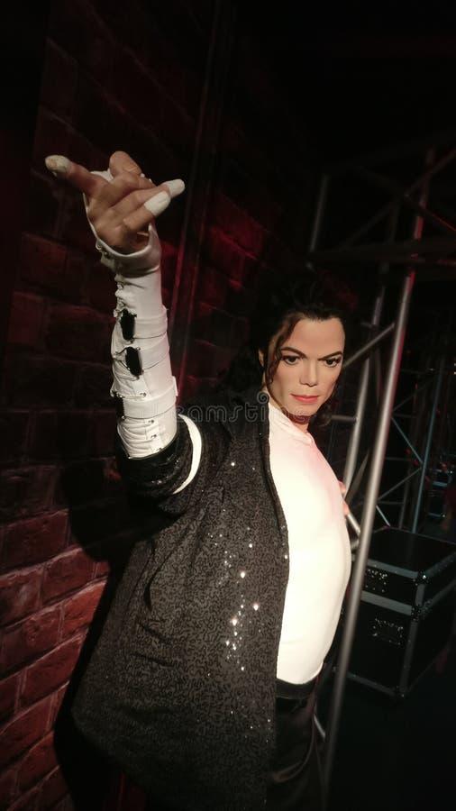 Michael Jackson bij Mevrouw Tussauds royalty-vrije stock fotografie