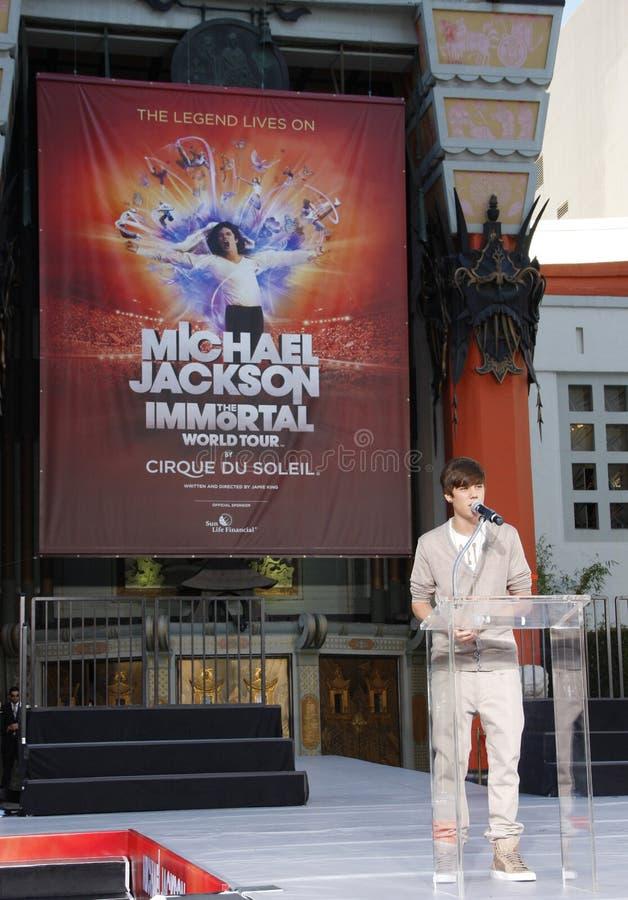 Michael Jackson Immortalized image stock