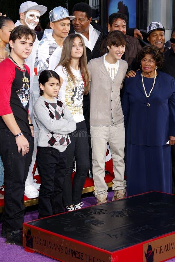 Michael Jackson Immortalized photos stock