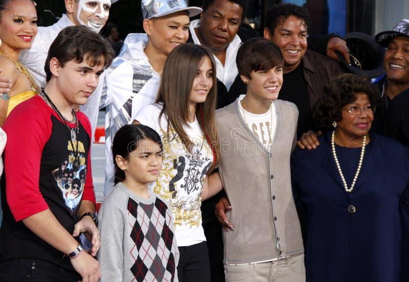 Michael Jackson Immortalized images libres de droits