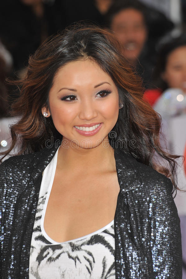 Download Brenda Song editorial photo. Image of downtown, picture - 26290621