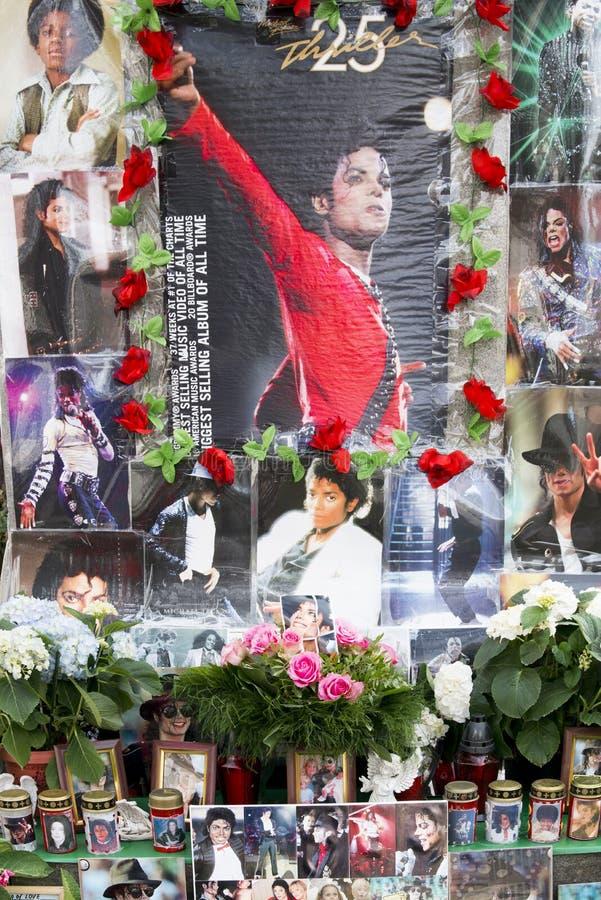 Michael Jackson Memorial Munich fotografia stock libera da diritti