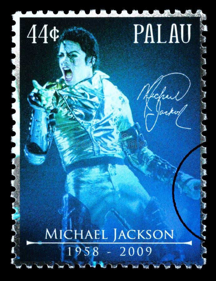 Michael Jackson Postage Stamp stockbilder