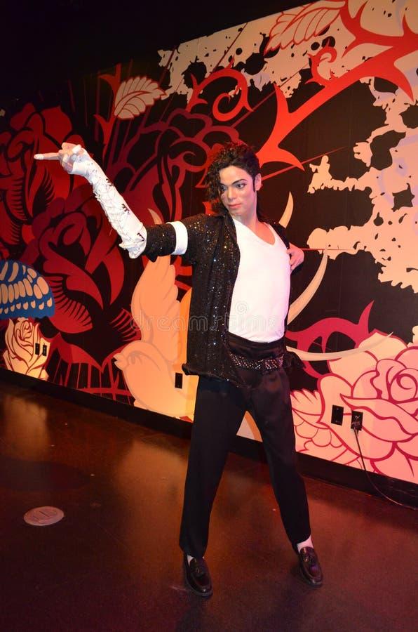 Michael Jackson Wax Figure foto de stock royalty free