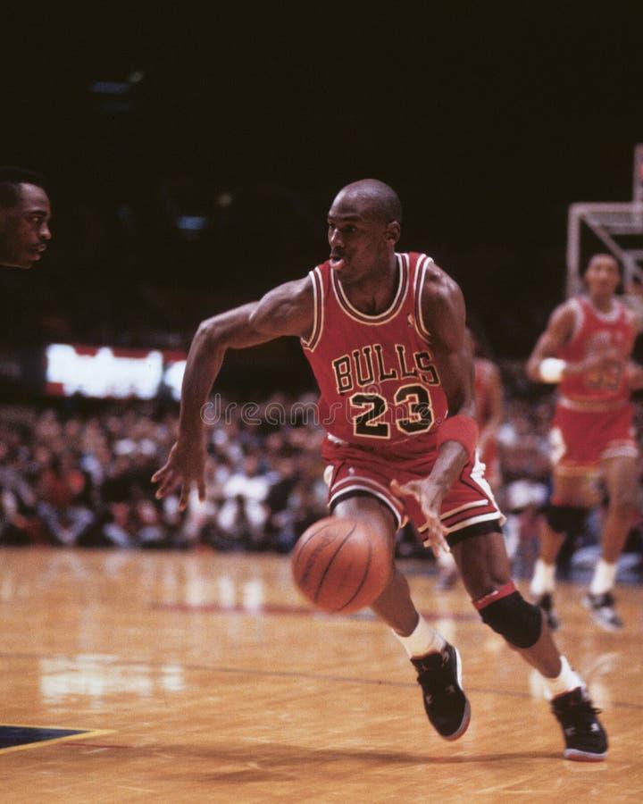Michael Jordan imagens de stock