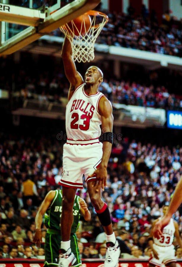 Free Michael Jordan Chicago Bulls Royalty Free Stock Image - 35612316