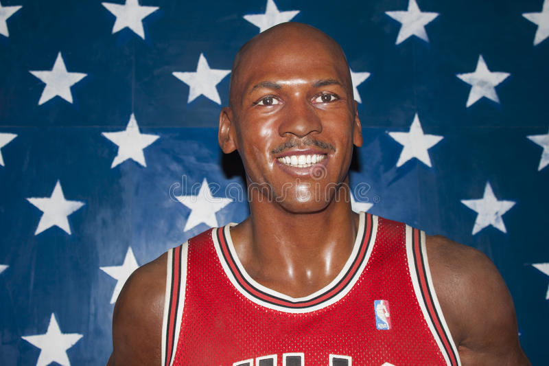 Michael Jordanië royalty-vrije stock fotografie