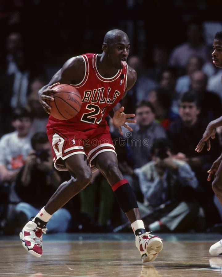 Michael Jordanië stock afbeeldingen