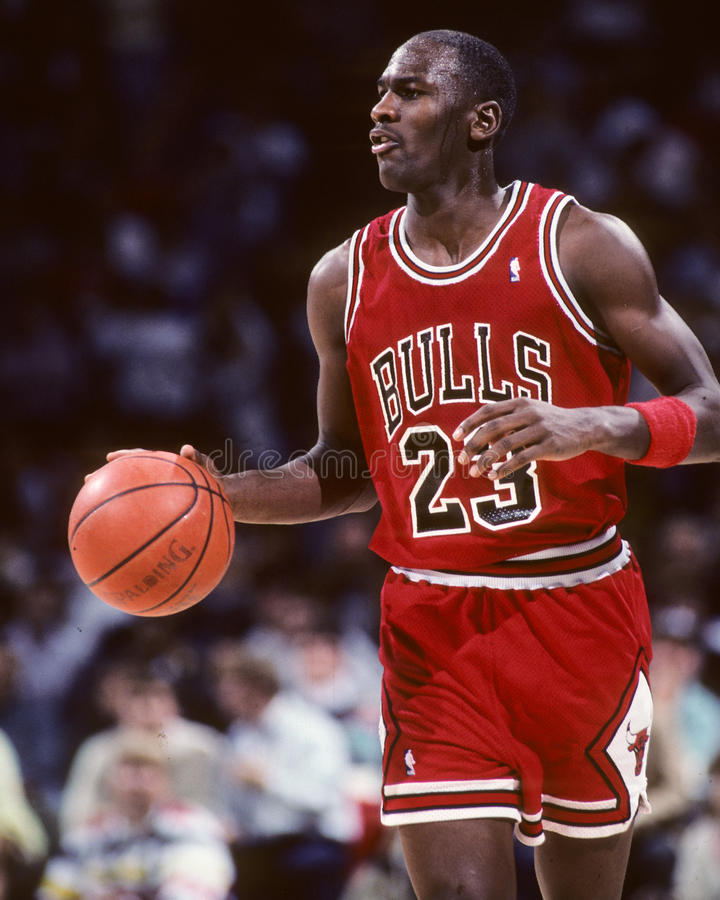 Michael Jordanië royalty-vrije stock afbeeldingen