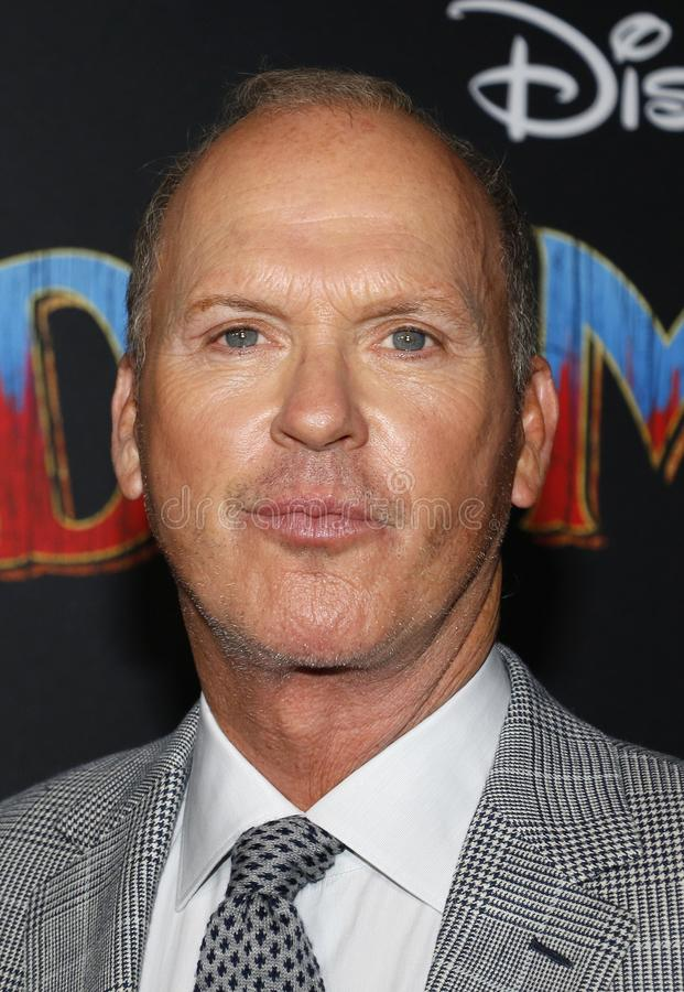 Michael Keaton stock foto