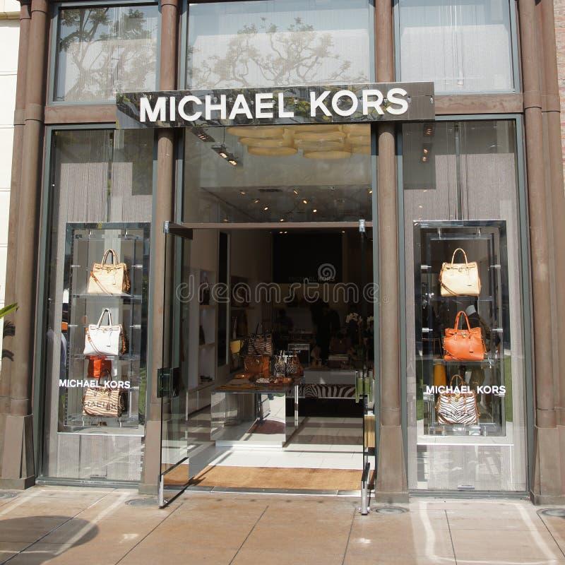 Michael Kors Boutique stock image