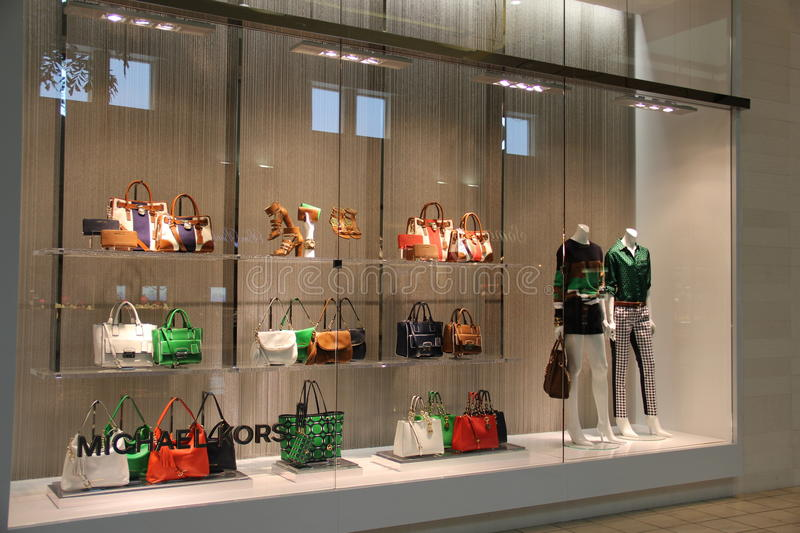 Michael Kors Fashion Store stock afbeeldingen