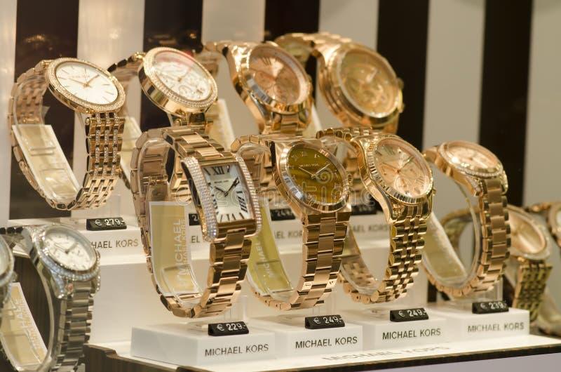 Michael Korso luksusu zegarki fotografia stock