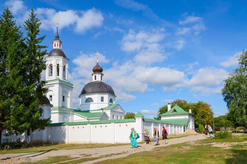 Michael la iglesia del arcángel en Lazarevo cerca de Murom, Rusia foto de archivo libre de regalías