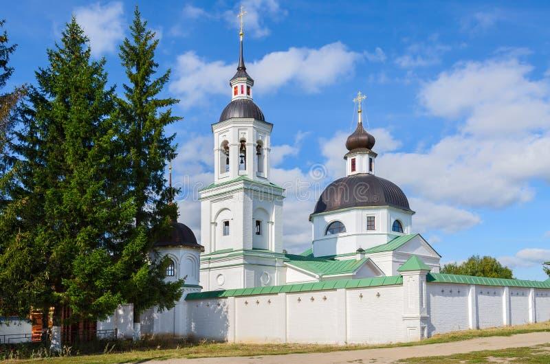 Michael la iglesia del arcángel, pueblo de Lazarevo cerca de Murom, Ru fotos de archivo libres de regalías