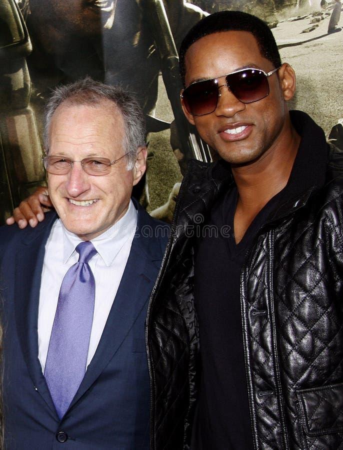 Michael Mann e Will Smith foto de stock royalty free
