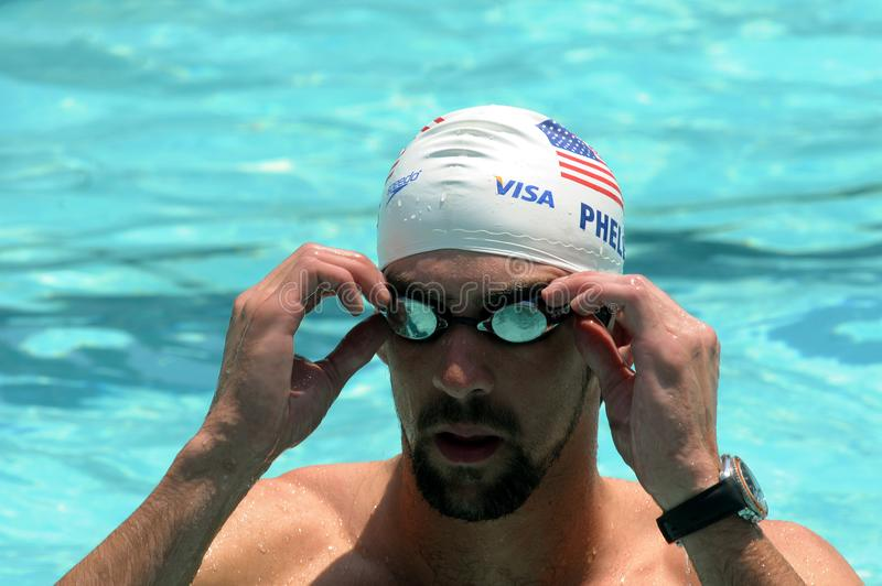 Michael Phelps immagini stock