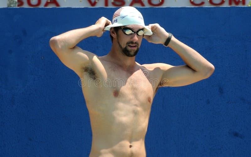 Michael Phelps fotografie stock libere da diritti
