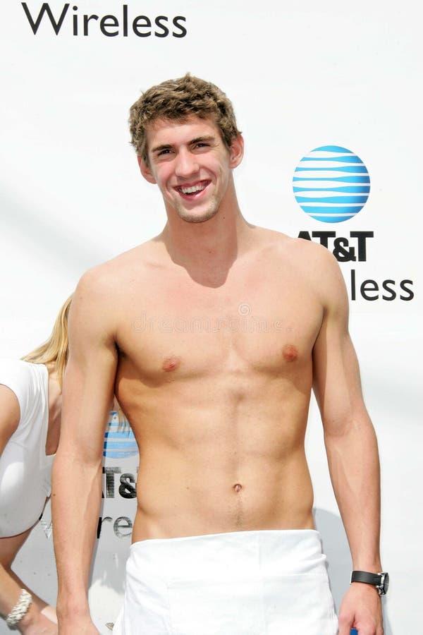 Michael Phelps immagine stock libera da diritti