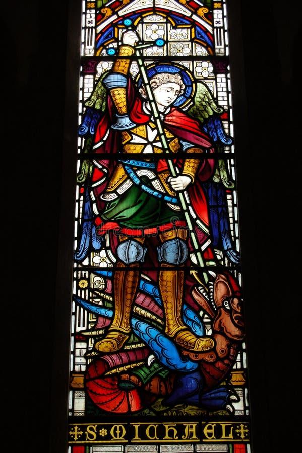 michael saint royaltyfria bilder
