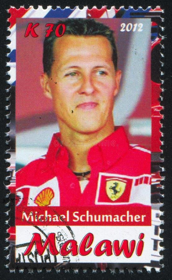 Michael Schumacher royalty-vrije stock afbeelding