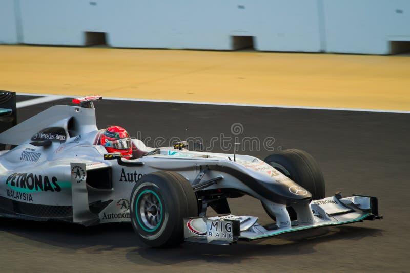 Michael Schumacher royalty free stock photo