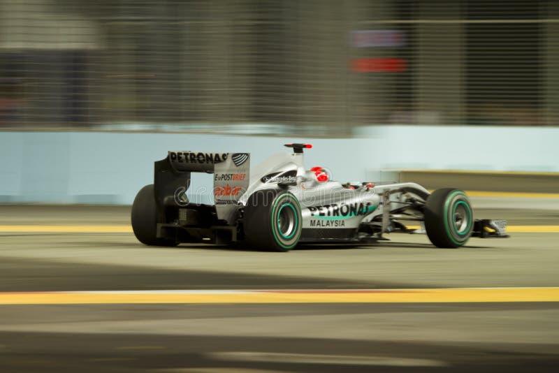Michael Schumacher royalty free stock image
