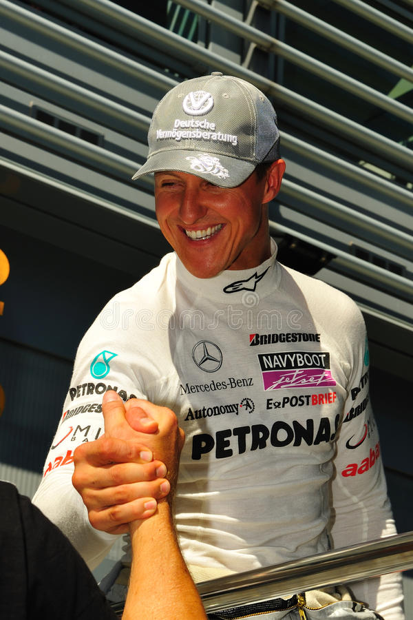 Michael Schumacher foto de stock royalty free