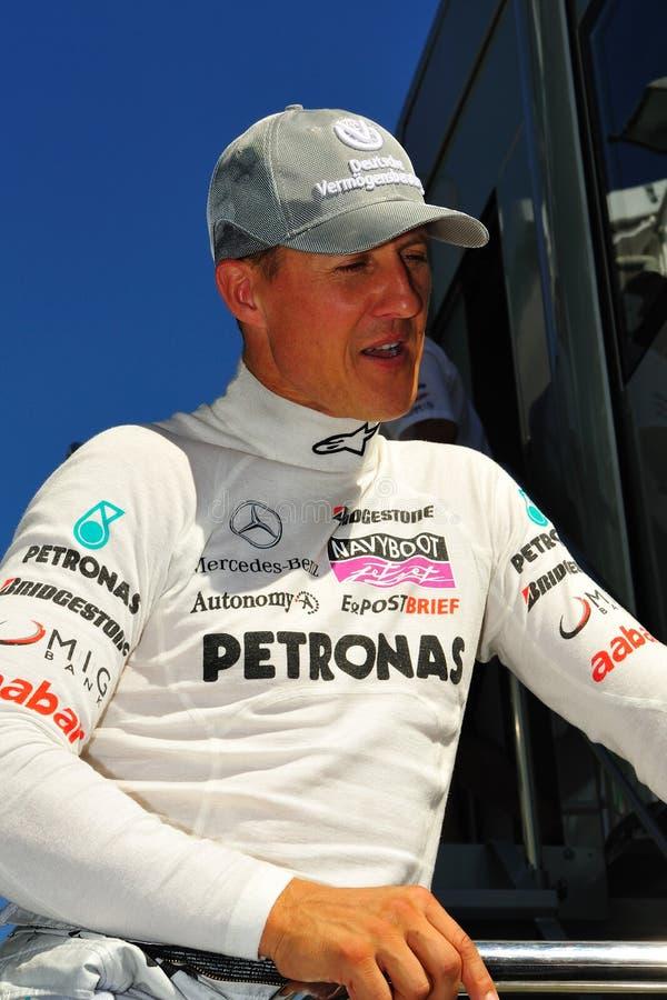 Michael Schumacher stock image