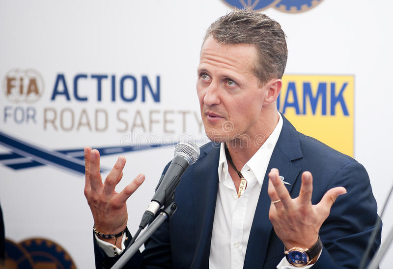 Michael Schumacher fotografia de stock royalty free