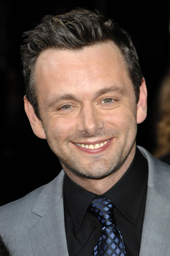 Michael Sheen. At the The Twilight Saga: New Moon Los Angeles Premiere, Mann Village Theatre, Westwood, Ca. 11-16-09 stock photo