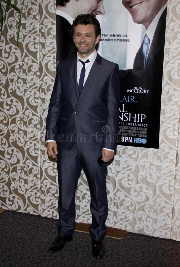 Michael Sheen. At the Los Angeles Premiere of `The Special Relationship` held at the Director`s Guild of America in Hollywood, California, United States on May stock photo