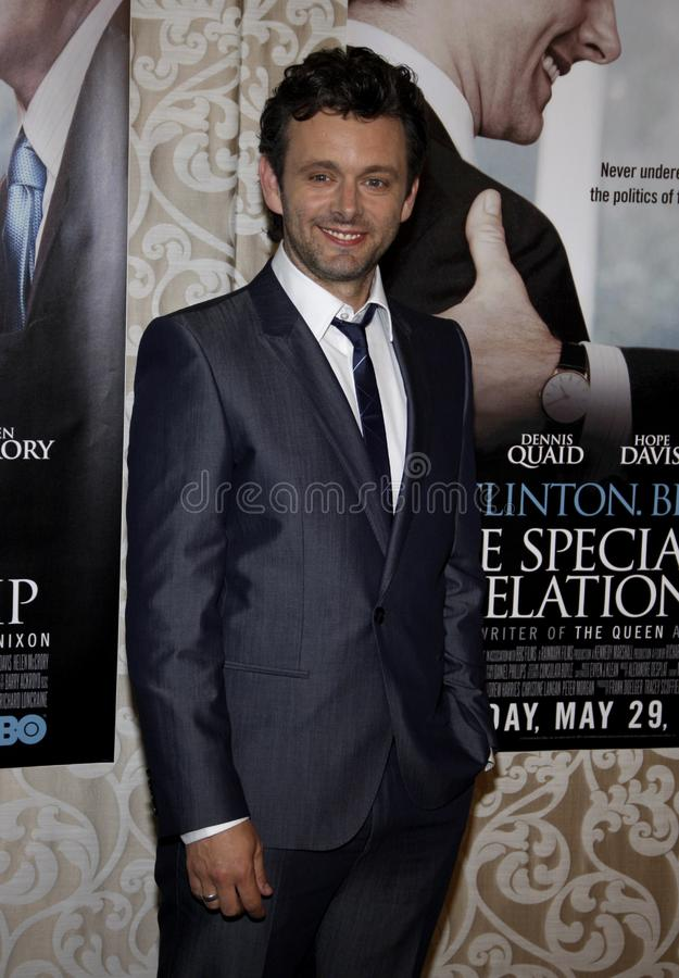 Michael Sheen. At the Los Angeles Premiere of `The Special Relationship` held at the Director`s Guild of America in Hollywood, California, United States on May stock photos