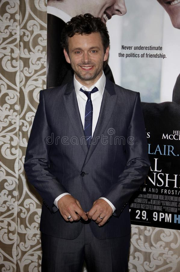 Michael Sheen. At the Los Angeles Premiere of `The Special Relationship` held at the Director`s Guild of America in Hollywood, California, United States on May stock photography