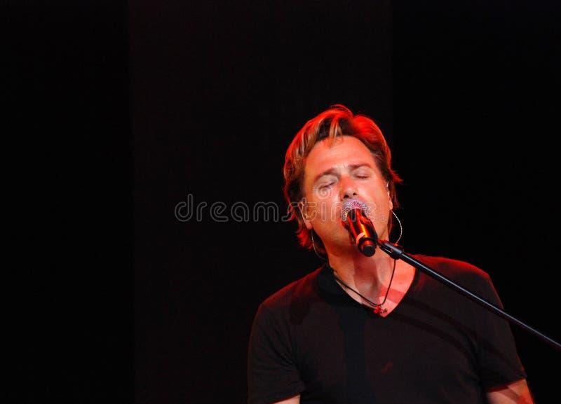 Michael W. Smith in concert stock photos