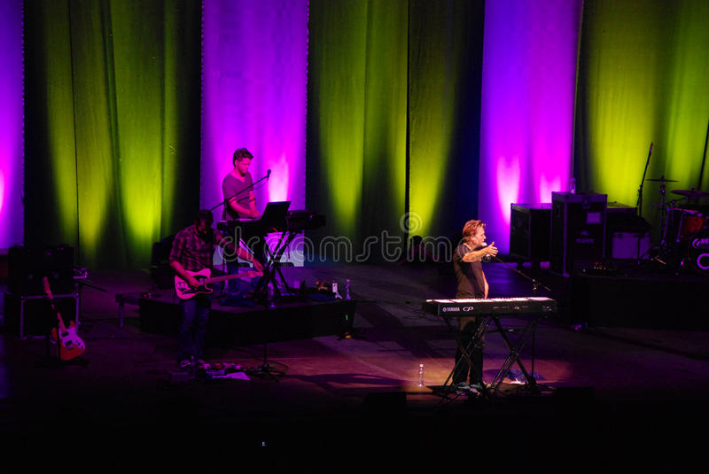 Michael W. Smith de concert photo libre de droits