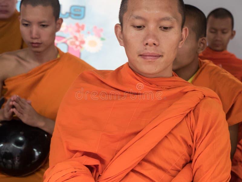 Michaelita datków ceremonia, Tajlandia obraz royalty free