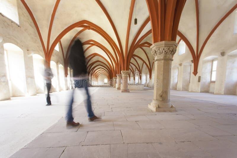 Michaelita dormitorium monaster Eberbach Niemcy obraz royalty free
