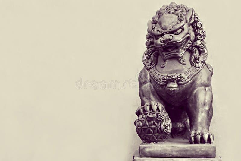 Michaelita kamienna statua zdjęcia stock