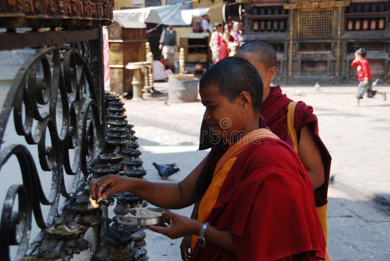 michaelita nepalscy zdjęcia stock