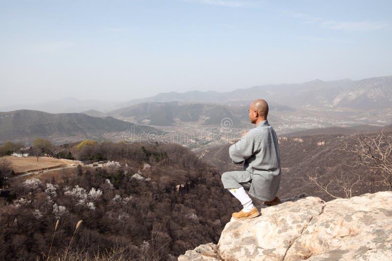 Michaelita praktyki kung fu obraz royalty free