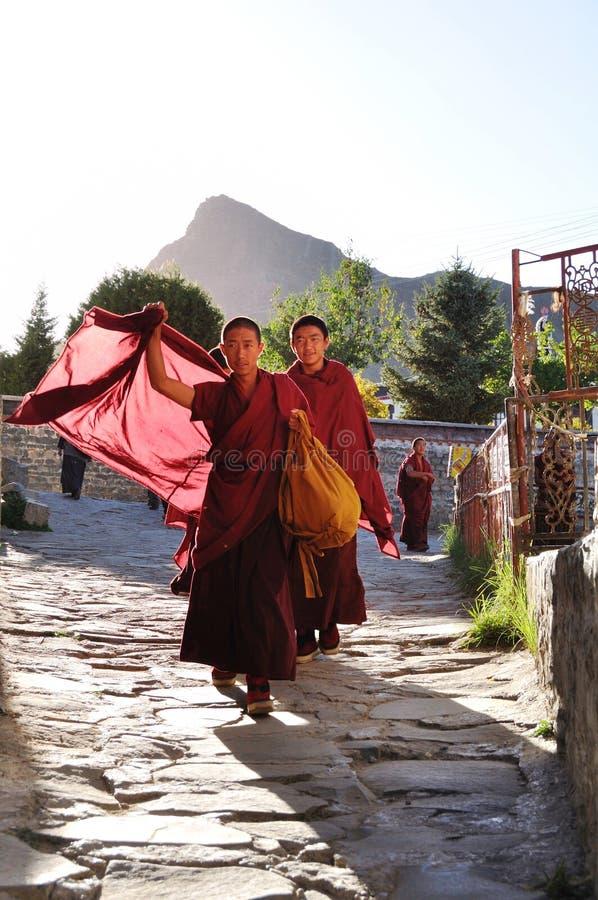 Michaelita w Tybet fotografia stock