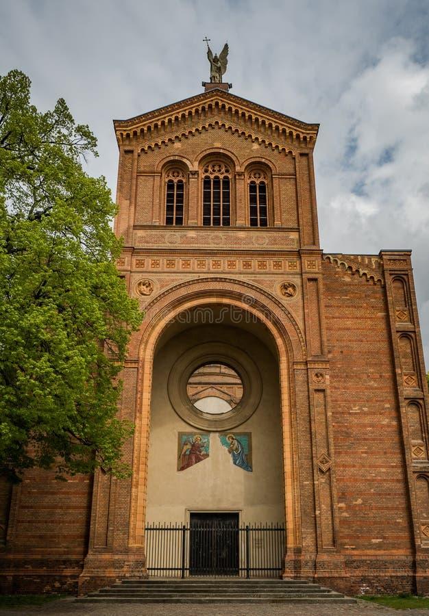 Michaelkirche w Berlin - przód zdjęcia stock
